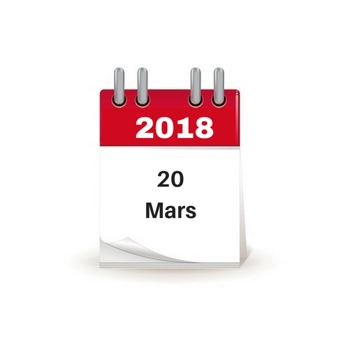 Calendrier 2018 webi mars