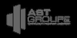 ast groupe grey logo