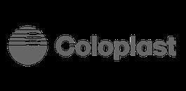 coloplast grey logo