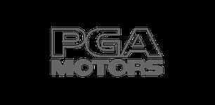 pga motors grey logo