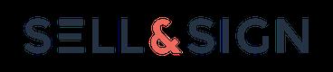 sell and sign logo HORIZONTAL