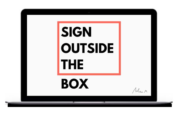 laptop SELL&SIGN e-signature english