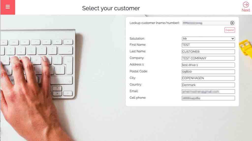 e-signature how to select signatory