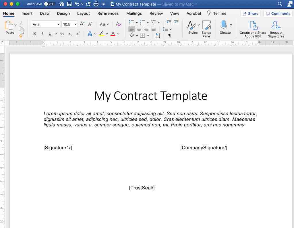 e-signature how to prepare document