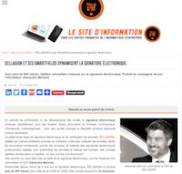Place de l'IT signature électronique SELL&SIGN